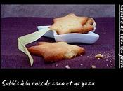 Sablés noix coco yuzu
