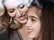 Madonna passe flambeau fille