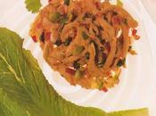 Salade poulet Thaï