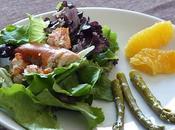 Salade homard asperges