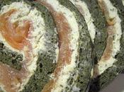 Omelette Roulée Epinards Saumon Fumé Boursin