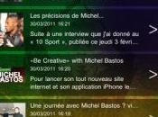 Michel Bastos appli iphone ipad