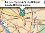 L'application iPhone Mappy intègre itinéraires transport commun