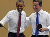 ping pong show Barack Obama David Cameron