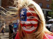 Maquillage drapeau