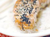 Saumon Sésames Sesame Salmon