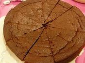 gâteau fondant chocolat sans oeufs