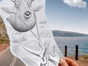 Pencil Camera: monde imaginaire onirique Heine