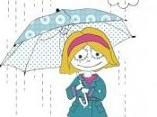 Coloriage jour pluie