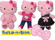 Build Bear Hello Kitty pink