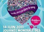 Journée mondiale sang mardi juin