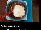 Oeufs neige coco pour Danette® chocolat noir