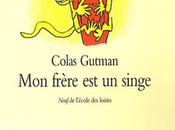 frère singe Colas Gutman