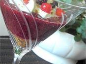 Gaspacho Fruits Rouges Spéculoos; Espuma Menthe pour SBCB