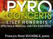 Pyro concert Hommage Liszt juin Parc André Citroën