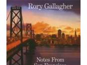 Rory Gallagher Notes From Francisco