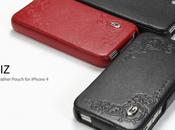Gariz Édition cuir pour iPhone excellence luxe portée main