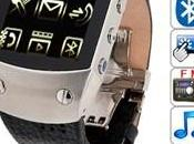 Montre telephone, tactile Bluetooth,