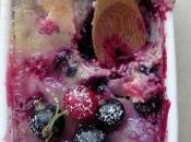 Clafoutis cassis grosseilles (gluten-free)