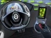 Blackberry Playbook dans concept Renault