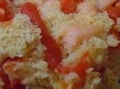 Cake vapeur DUKAN,maïzena,poivron rouge,PROTIFAR,saumon fumé,son d'avoine