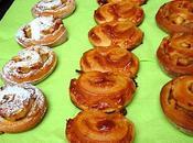 Briochettes façon biscuits fourrées pommes confiture lait