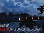 Gagner: places pour Calogero 21/7