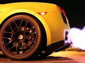 Lamborghini Shooting Flames (Twin Turbo Gallardo)