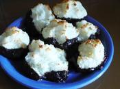 Rochers coco nappage chocolat