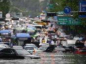 Pluie diluvienne Séoul