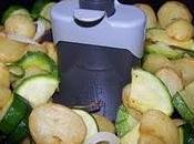 Poêlée Courgettes Pommes terre l'Actifry