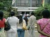 Université Yaoundé Manifestations étudiants devant rectorat