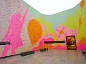 Good as... Galerie Melissa, Power love, installation Post-it