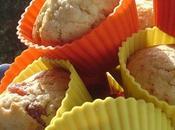 douceur Couleurs... Muffins Flocons D'avoine, Fraises Séchées, Chocolat Blanc