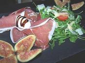 Salade jambon Parme.
