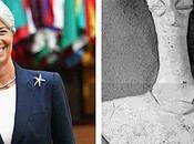 Christine Lagarde ressemble déesse mère Gonour Depe