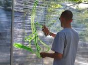 graffiti cellophane!