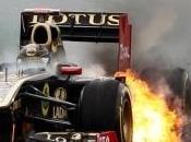 Lotus Renault explique l'incendie Hongrie