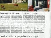 Domaine Brandois dans Figaro Magazine