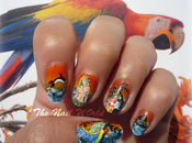Sunrise nail