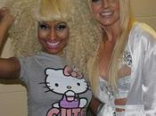 Photo Nicki Minaj prend pose avec Britney