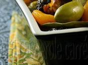 Poulet Marbella abricots