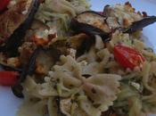 Légumes soleil pastas pesto