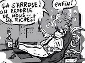 Taxation plus riches aimable plaisanterie communicante