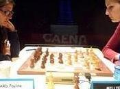 Echecs Caen ronde National Féminin 15h30