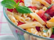 Pâtes salade Tomate Feta Basilic