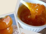 Confiture d'abricots gingembre fleur d'oranger