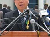 Jinwei Chine emporté aucun grain l'Afrique