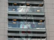 Post-it fresque d'Ezio Ubisoft Montreuil