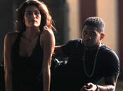 Photos Usher tourne clip secret